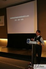 Mark Brooks at the 2007 Barcelona Internet Dating Conference and Matchmaking Convention