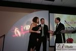 Match.com receiving Best Dating Site Award at the 2010 Internet Dating Industry Awards Ceremony in Miami
