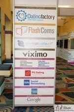 Sponsors Signage at the 2010 Miami Internet Dating Conference
