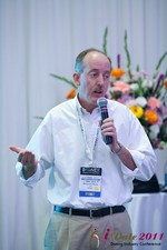 Brendan O'Kane (CEO of Messmo Media) at the iDate Dating Business Executive Summit and Trade Show