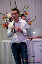 Chas McFeely (CEO of HuookChasUp.com) at the June 22-24, 2011 L.A. Internet and Mobile Dating Industry Conference