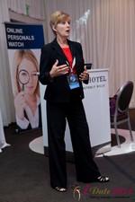 Ann Robbins (CEO of eDateAbility) at iDate2011 Los Angeles