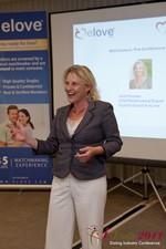 Julie Ferman (CEO of Cupid 's Coach) at iDate2011 Los Angeles