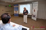 Julie Ferman (CEO of Cupid 's Coach) at the June 22-24, 2011 L.A. Internet and Mobile Dating Industry Conference
