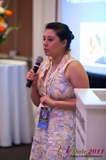 Monica Ohara (Director of Marketing at SpeedDate) at iDate2011 West