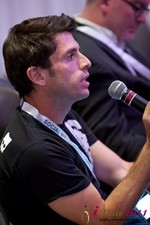 Joel Simkhai (CEO of Grindr) at the 2011 L.A. Online Dating Summit and Convention