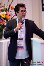 Tai Lopez (CEO of DatingHype.com) at the 2011 Internet Dating Industry Conference in L.A.