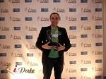 Sam Yagan - OKCupid.com won 3 iDateAwards  for 2012 at the 2012 Internet Dating Industry Awards Ceremony in Miami