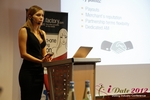 Oksana Reutova (Head of Affiliates at UpForIt Networks) at the 9th Annual Euro iDate Mobile Dating Business Executive Convention and Trade Show