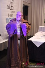 Jonathan Crutchley (Chairman at Manhunt) is actually Obi Wan Kenobi! at the June 20-22, 2012 California Internet and Mobile Dating Industry Conference