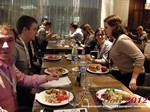 Lunch at the 2012  Eastern European Online Dating Industry Conference in Moscow