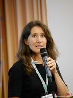 Tanya Fathers (CEO of Dating Factory) at the September 16-17, 2013 Mobile and Internet Dating Industry Conference in Köln