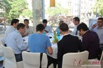 Lunch at the 2013 Köln E.U. Mobile and Internet Dating Summit and Convention
