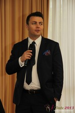 Maciej Koper (CEO of World Dating Company) at the 10th Annual E.U. iDate Mobile Dating Business Executive Convention and Trade Show