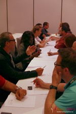 Speed Networking at the 34th iDate2013 L.A.