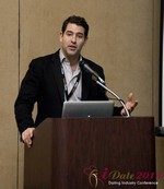 David Benoliel (VP of Avid Life Media) at the 2013 Internet Dating Super Conference in Las Vegas