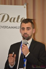 Matthew Banas, CEO of NetDatingAssistant  at the September 7-9, 2014 Mobile and Online Dating Industry Conference in Koln