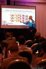 Axel Vezina, Chief Analytics Officer For Crak Media On Best Strategies For Mobile Dating Conversions  at the June 4-6, 2014 Beverly Hills Internet and Mobile Dating Industry Conference