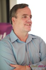 BeehiveID Co-Founder Alex Kirkpartrick at the 38th iDate2014 Los Angeles