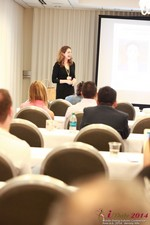 Jill James, COO of Three Day Rule Seminar On Partnership Models For Dating Leads To Online Dating at iDate2014 Los Angeles