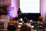 Rosalie Sutherland, Director Of Mobile Marketing at AnastasiaDate Discussing Mobile Dating Conversions  at iDate2014 Beverly Hills