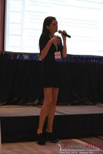 Rosalie Sutherland Of AnastasiaDate Speaking On Mobile Dating Conversions  at the 2014 Beverly Hills Mobile Dating Summit and Convention