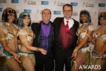 Marc Lesnick & Mark Brooks (iDate Awards Thanks You!) at the 2014 Las Vegas iDate Awards Ceremony