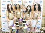 The iDate Dancers at the January 15, 2014 Internet Dating Industry Awards Ceremony in Las Vegas