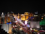 View of Las Vegas Strip - Party @ Foundation Room at the 2014 Las Vegas Digital Dating Conference and Internet Dating Industry Event