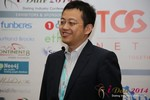 CFO of Jiayuan at iDate at Las Vegas iDate2014