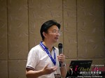 Dr. Song Li - CEO of Zhenai at the 2015 Asia Internet Dating Industry Conference in Beijing