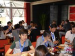 Lunch at the May 28-29, 2015 Mobile and Online Dating Industry Conference in China
