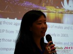 Violet Lim - CEO of Lunch Actually at the 41st International Asia iDate Mobile Dating Business Executive Convention and Trade Show