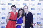 Leila Benton-Jones, Renee Piane and Rachel MacLynn in Las Vegas at the January 15, 2015 Internet Dating Industry Awards