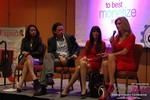 CNN Panel on Content Marketing - Carmelia Ray, David Perez, Julie Spira & Wendy Walsh at the January 20-22, 2015 Las Vegas Online Dating Industry Super Conference