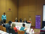 CEO Growth Ideas for Matchmakers and Dating Coaches - Doron Kim, Rachel MacLynn, Natacha Noel, Kristina Lynn, Lisa Darsonval at the 2015 Internet Dating Super Conference in Las Vegas
