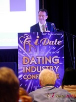 Mark Brooks - Publisher of Online Personals Watch at iDate2015 Las Vegas
