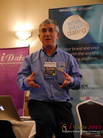 Dave Wiseman Vice President Of Sales And Marketing Speaking To The European Dating Market On Scam Detection Technology at the 12th Annual E.U. iDate Mobile Dating Business Executive Convention and Trade Show