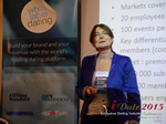 Pauline Tourneur General Manager Of Attractive World Speaking On The French Online And Mobile Dating Market  at the October 14-16, 2015 event for global online dating and matchmaking professionals in London