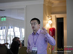 Shang Hsui Koo(CFO, Jiayuan)  at the 38th Mobile Dating Indústria Conference in Los Angeles