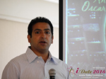 Tushar Chaudhary (Associate director at Verizon)  at the 38th iDate Mobile Dating Negócio Trade Show