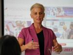 Olga Korsakova at the July 19-21, 2017 P.I.D. Industry Conference in Misnk, Belarus