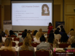 Ksenia Droben - CEO of Ksenia Droben Patnervermittlung at the 52nd Dating Agency Indústria Conference in